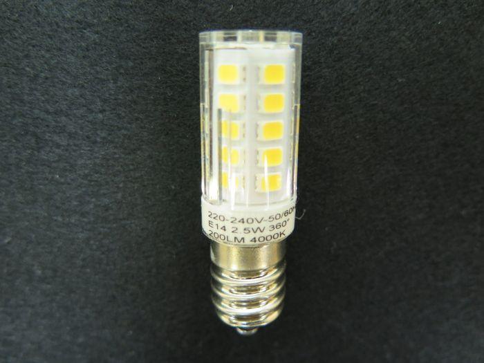 LED Nählicht T15 E14 Schraubfassung