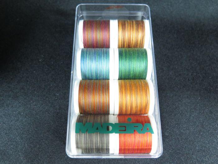 Madeira Multicolor-Box Aerofil Garn-Set