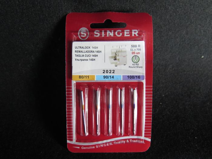 Singer Overlocknadeln 500R ELx705