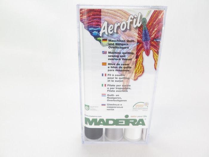 Madeira Aerofil Näh- und Quiltgarn-Set