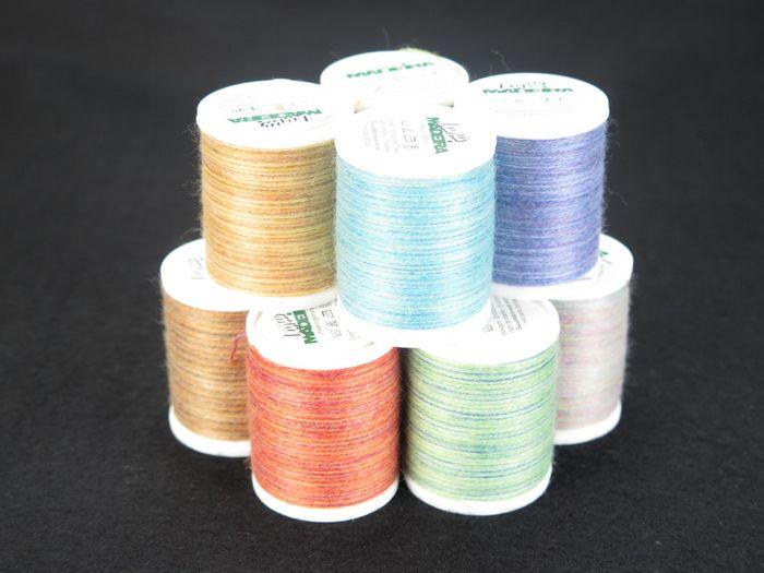 Madeira Lana Wollstickgarn Multicolor  / 200 m