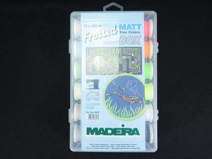Madeira Frosted Matt Box 18 x 500 m
