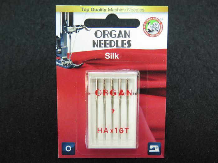 "Organ Nähmaschinennadeln ""Silk"""