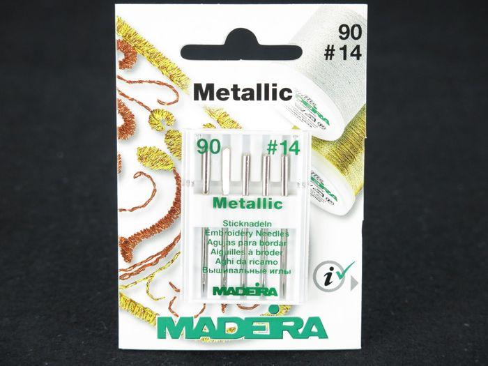 """Madeira Stickmaschinennadeln """"Metallic"""""""