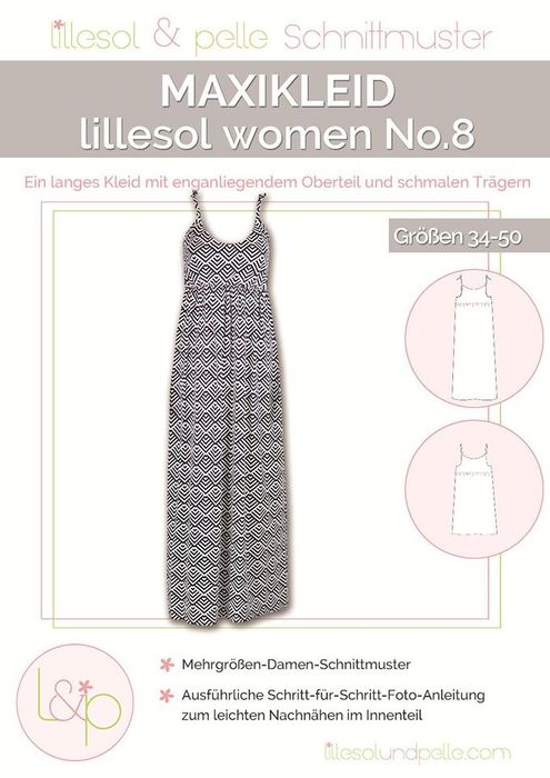 Maxikleid women No.8