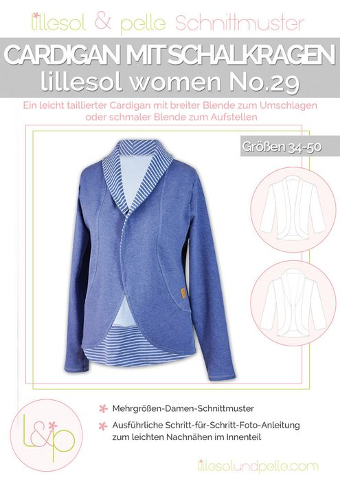 Cardigan mit Schalkragen women No.29