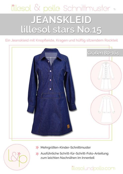 Jeanskleid Stars No.15