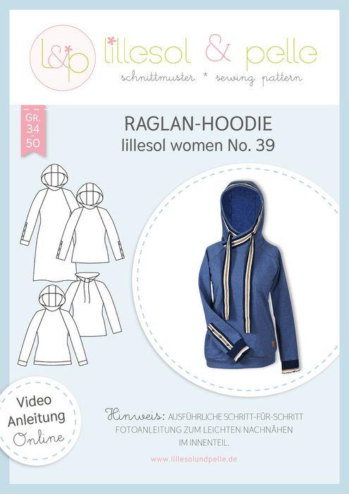 Raglan-Hoodie women No.39