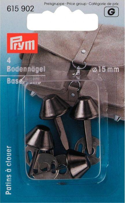 Bodennägel für Taschen (schwarz) 15mm