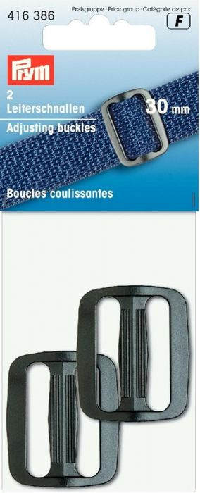 Leiterschnallen (Kunststoff) 30mm