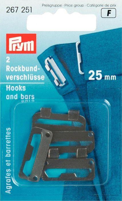 Rockbund-Verschlüsse (schwarz) 12mm
