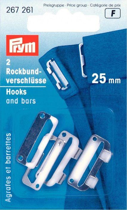 Rockbund-Verschlüsse (silberfarben) 12mm