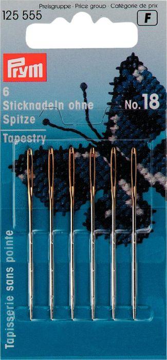 Sticknadeln ohne Spitze ST 18mm silber- / goldfarbig