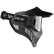 VForce Armor Field Vision Paintballmaske Gen 3, schwarz, Single Glas Bild 2
