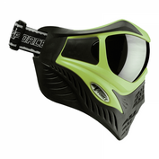 VForce Grill Paintballmaske mit Thermalglas, Lime on Black, SPECIAL EDITION Bild 2