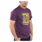 TANKED Zuse T-Shirt, aubergine 002