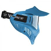 VForce Armor Field Vision Paintballmaske Gen 3, Single Glas, blau Bild 2