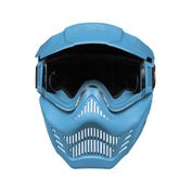 VForce Armor Field Vision Paintballmaske Gen 3, Single Glas, blau Bild 3