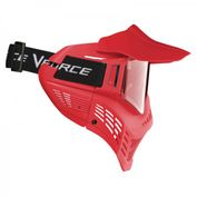 VForce Armor Field Vision Paintballmaske Gen 3, Single Glas, rot 002