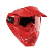 VForce Armor Field Vision Paintballmaske Gen 3, Single Glas, rot