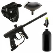 New Legion Rush Paintball Set mit HP-System, DYE Primo Hopper und Paintballmaske 001