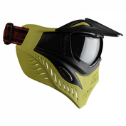 VForce Grill Paintballmaske mit Thermalglas, Black on Lime, SPECIAL EDITION 001