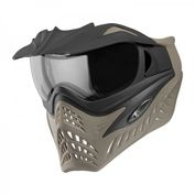 VForce Grill Jackal Special Forces Paintball Maske mit Thermalglas, Black on Taupe Bild 4