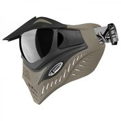 VForce Grill Jackal Special Forces Paintball Maske mit Thermalglas, Black on Taupe Bild 3