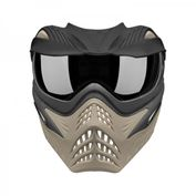 VForce Grill Jackal Special Forces Paintball Maske mit Thermalglas, Black on Taupe Bild 5