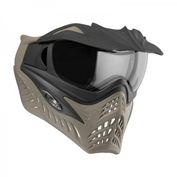 VForce Grill Jackal Special Forces Paintball Maske mit Thermalglas, Black on Taupe Bild 1