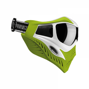 VForce Grill Paintballmaske mit Thermalglas, White on Lime, SPECIAL EDITION 001