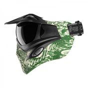 VForce Grill Paintballmaske, mit Semi HDR Glas, Zombies Green Bild 4