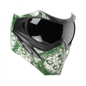 VForce Grill Paintballmaske, mit Semi HDR Glas, Zombies Green Bild 1