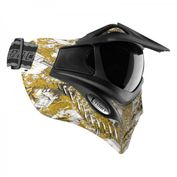 VForce Grill Paintballmaske, mit Semi HDR Glas, Eagle Eye Gold Bild 3
