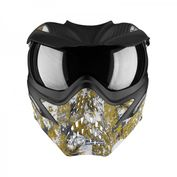 VForce Grill Paintballmaske, mit Semi HDR Glas, Eagle Eye Gold Bild 5