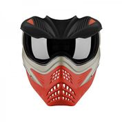 VForce Grill Paintballmaske, Silver on Red Bild 3