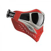 VForce Grill Paintballmaske, Silver on Red 002