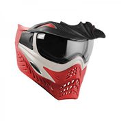VForce Grill Paintballmaske, Silver on Red 001