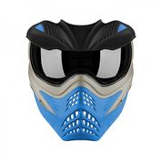 VForce Grill Paintballmaske, Silver on Blue Bild 2