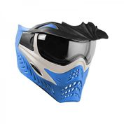 VForce Grill Paintballmaske, Silver on Blue Bild 1