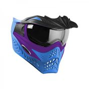 VForce Grill Paintballmaske, Purple on Blue