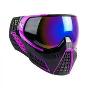 HK Army KLR Paintball Maske ARGON in lila-schwarz! Absolut Stylish, direkt ab Werk mit einem verspiegeltem Thermalglas!