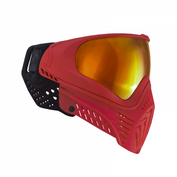 Virtue VIO XS Crystal Paintballmaske, Crystal Red Bild 1