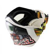 VForce Grill Paintballmaske, G.I. Sportz Logo, weiß 004