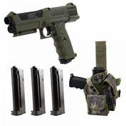 Tippmann TiPX TPX Deluxe Kit Paintball Pistole, Sparset, oliv Bild 1