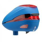 Dye Rotor R2 Paintball Loader Hopper, Patriot, rot-blau Bild 3