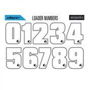 Die DYE Loader Sticker machen Euch berühmt! Klebt die Aufkleber auf den Hopper und jeder erkennt Euch anhand der Nummer.