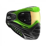 DYE Axis Pro Paintball Maske, lime-grün, Nothern Lights 001