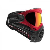 DYE Axis Pro Paintball Maske, rot, Bronze Fire 002