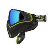 Push Unite Paintball Maske, schwarz lime grün